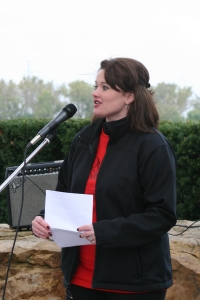 Speaking at Community Walk '09